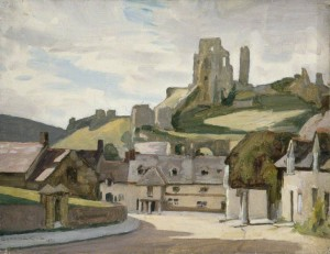 Corfe Castle by Gunning King