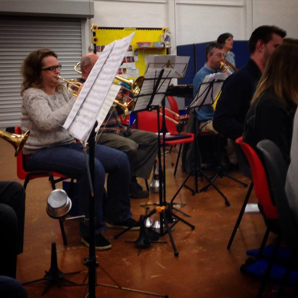 #1HappyYear Day 20: the problem with sitting on the third row of flutes is that it's very easy to get distracted by the trombones when they're doing their Imperial March! #StarWars #100HappyDays — with Rebecca Lake, Alan Wallis and Philip Coull at Dunmore School.