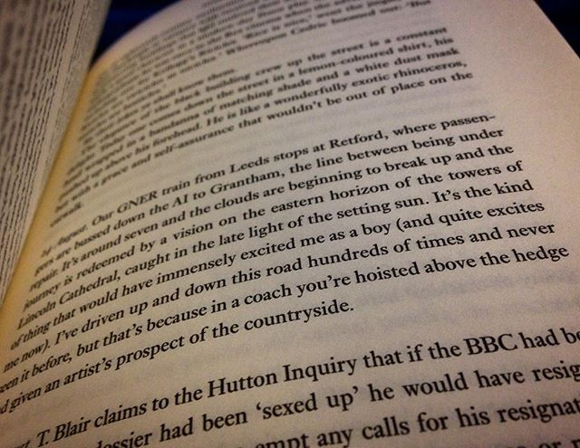 #1HappyYear Day 342: One of the advantages of traveling by bus, brilliantly put... #AlanBennett #100HappyDays