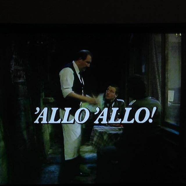 #1HappyYear Day 364: 'Allo 'Allo... this was the Saturday evenings of my youth. Don't think I've ever seen the first episode before now! #RIPGordonKaye #100HappyDays