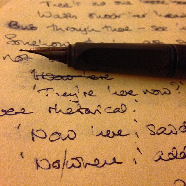 I'm back and I #amwriting!  #600words #progress #MrTumnal #TheNovel