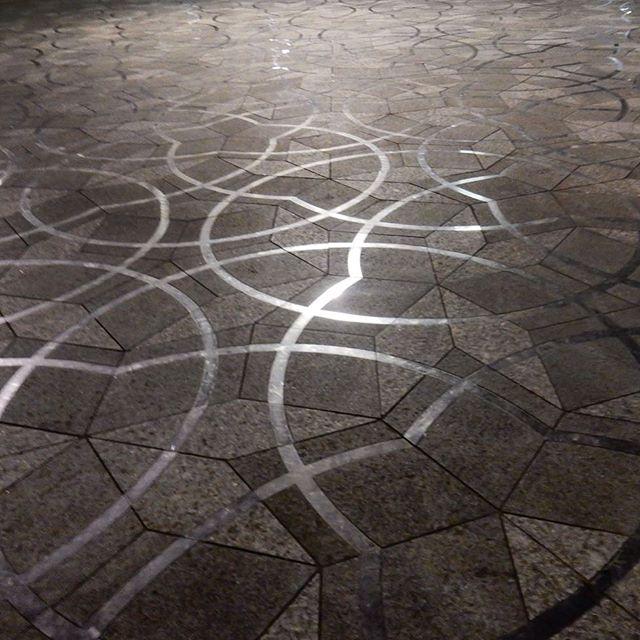 Epic #geometric floor...