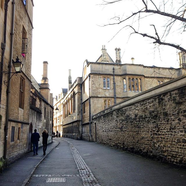 The Oxford lane where stories were born to happen... #MrTumnal #TheImaginaryWife