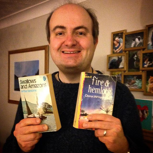 Happy #WorldBookDay everyone! Here are my two most-favourite books ????