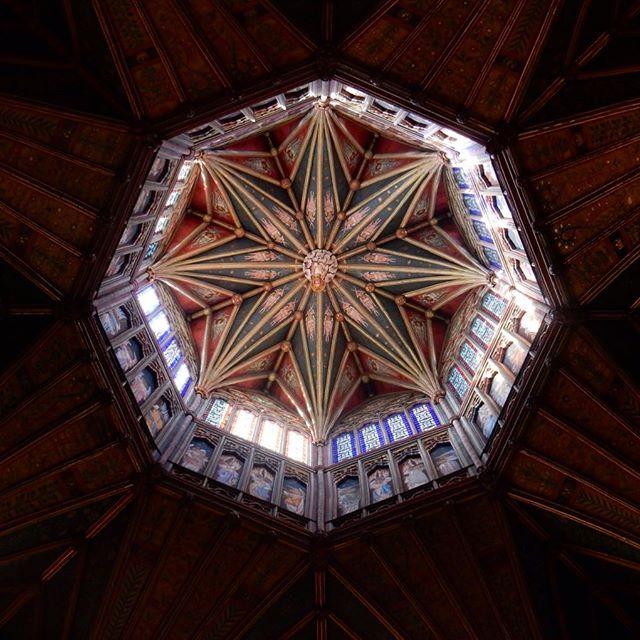 Kaleidoscopic lantern  #ely #cathedral #kaleidoscope #lantern