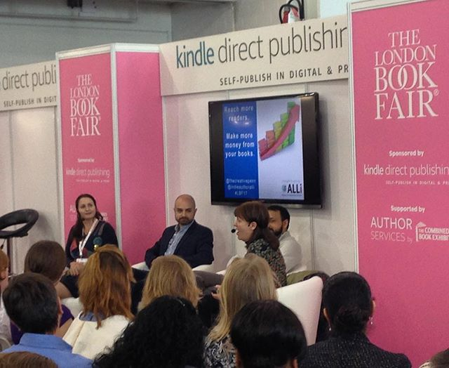Standing room only at the @indieauthorALLi event at ##lbf17  with @jfpennauthor and @ornaross