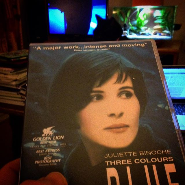 Today seemed to be an appropriate day to watch this Krzysztof Kieslowski classic... #threecolours #blue #eu #europeanunion #brexshit