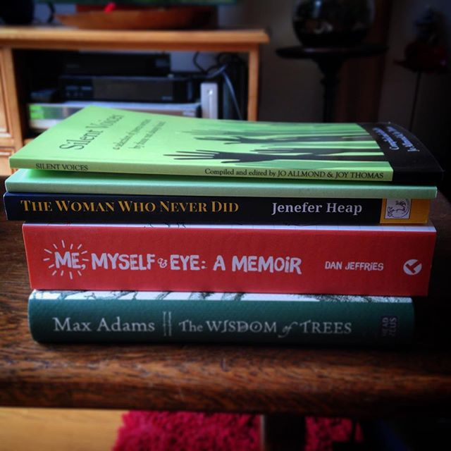 So @HULitFest is no different. You can't go to a literature festival and not come away with at least five books (okay, so two of them were gifts...) #books #amreading