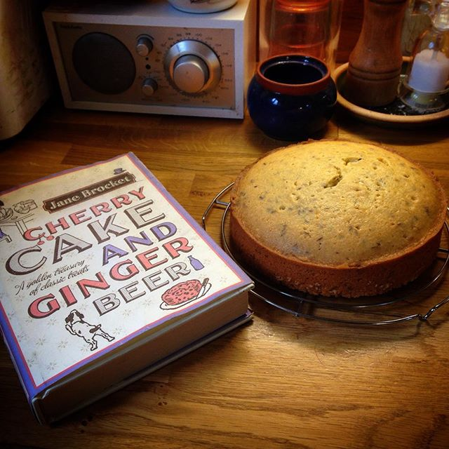 #SwallowsandAmazons Seed Cake for the Wonderland Bookshop and Cafe at Saturday's Hawkesbury Upton Literary Festival...