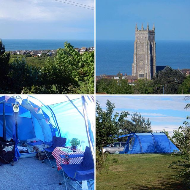 Room with a view... #camping #NorthNorfolk