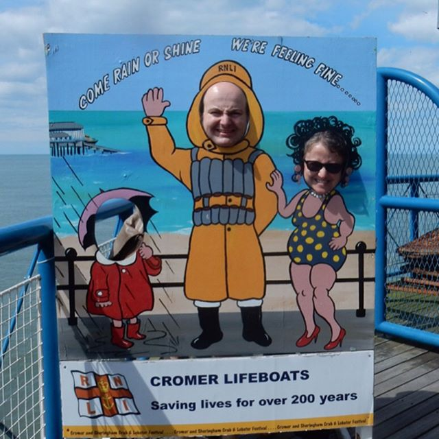 Fun at the seaside!