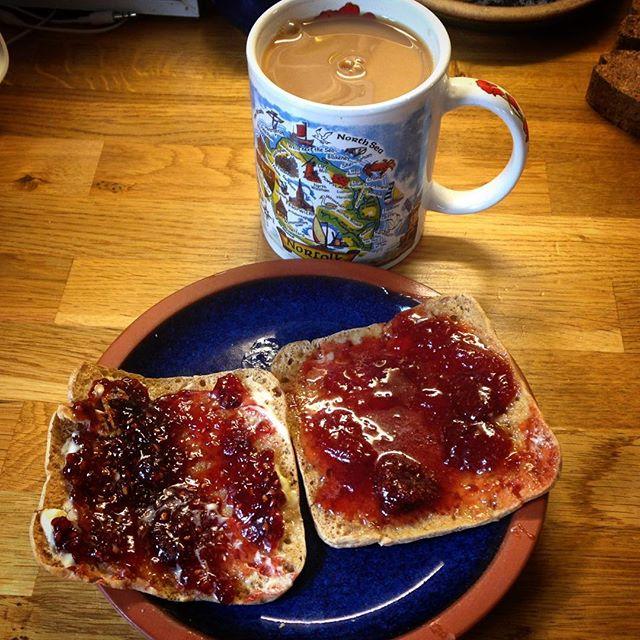 Tea and jam to end the week... #leweekendstartshere