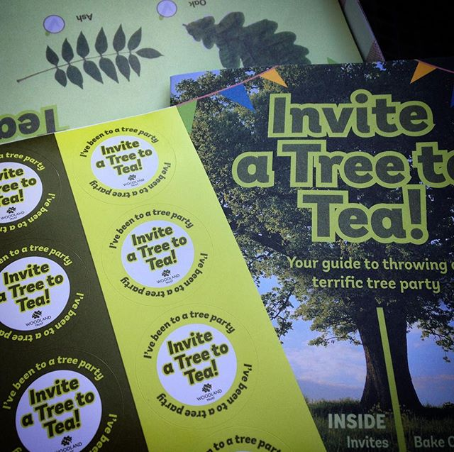 So who wants to come to a @woodlandtrust #TreeParty? How about it @vnemma, @lettyandtiminou, @laurapicklechop ?
