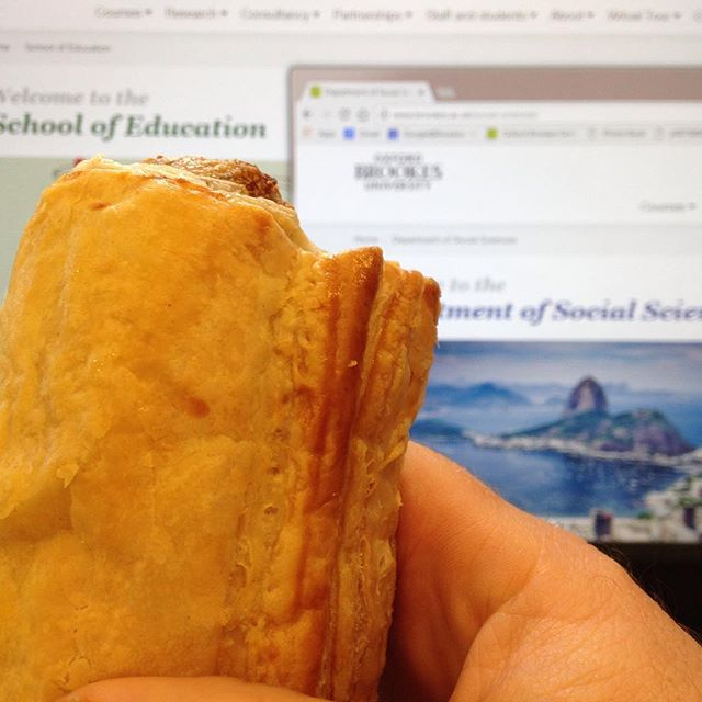 #SuperWednesday #SiteLaunch #SausageRoll #Celebration  This completes the migration of the five core departmental websites with a five days to spare... #websibes #work #alliteration