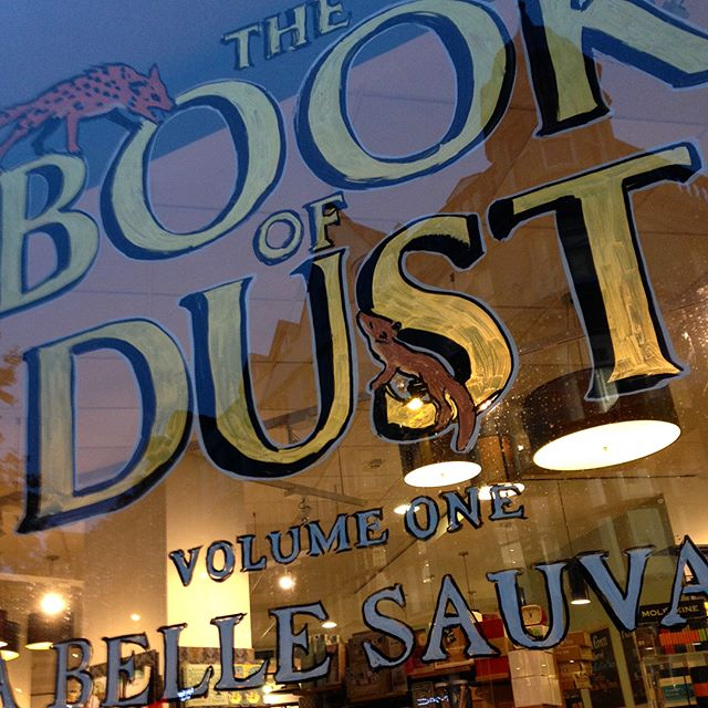 It's publicationeve for #TheBookOfDust. Really hope it's worth the wait and that it doesn't dissaoint, @philippullman