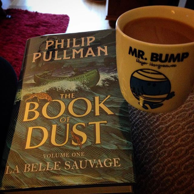 17 years on the waiting. Are you sitting comfortably? Then it's time begin... #TheBookofDust #amreading