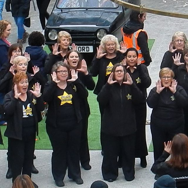 Shut up and dance with me… #rockchoir