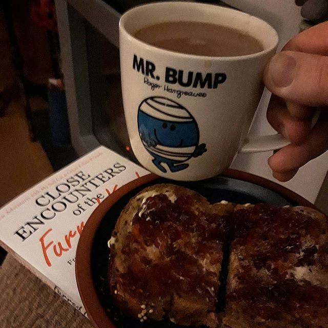 Survivor's guide to Friday's #envelopegate: tea, toast, and book... relax...