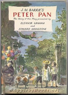The illustrations that capture the essence of Peter Pan