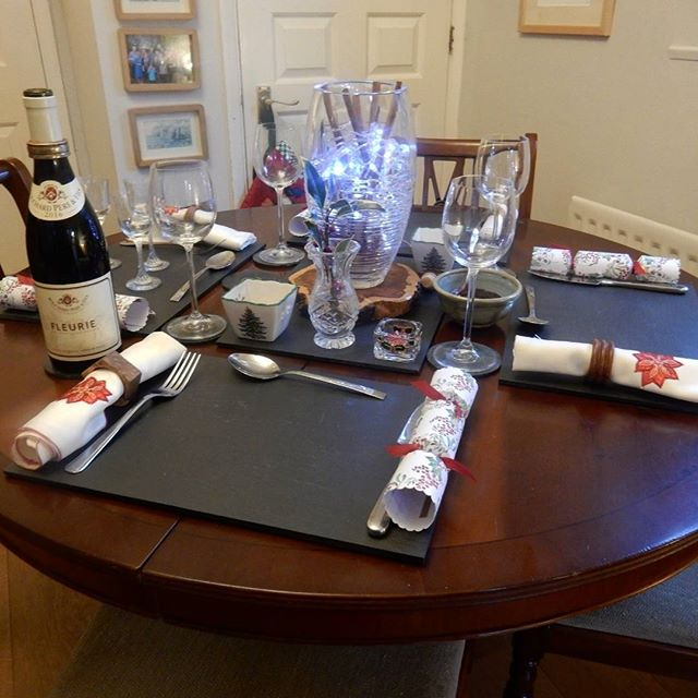 Christmas lunch in the Shepherd house… #Christmas????