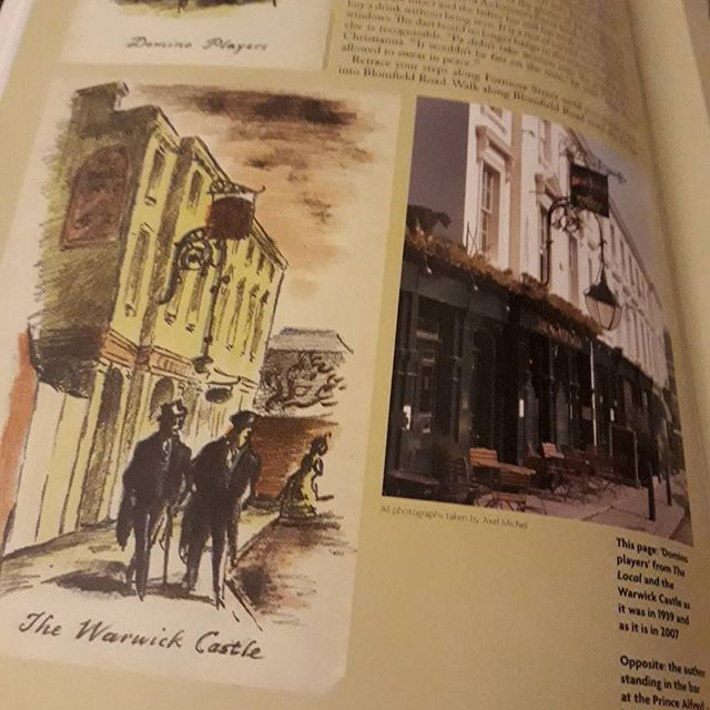 Reading about the Ardizzone Pub Trail in @illustration.magazine and it's fascinating to see photos and sketches by #EdwardArdizzone side-by-side...