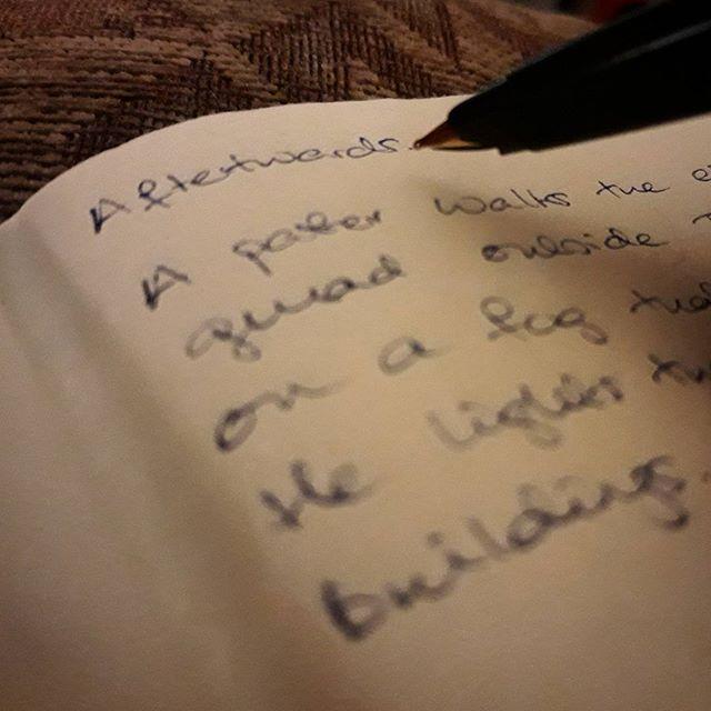 Because after an #epilogue every novel needs an afterwards... #amwriting #MrTumnal2 #TheImaginaryWife
