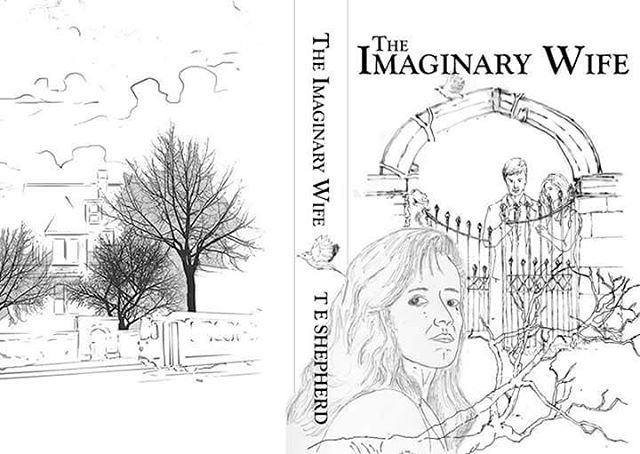 Working up cover ideas and sketches for my forthcoming third novel! #amwriting #MrTumnal2 #TheImaginaryWife