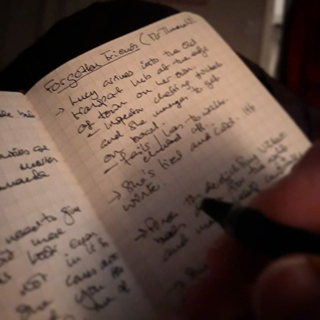 I may be #amediting part two but that doesn't stop me laying down some plotting for part three... #ForgottenFriends
