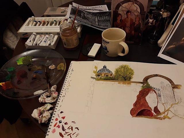 Artist's studio...?!?