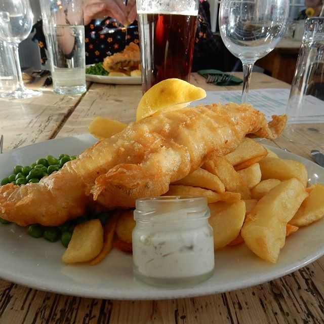 Fish'n'Chips by the seaside...