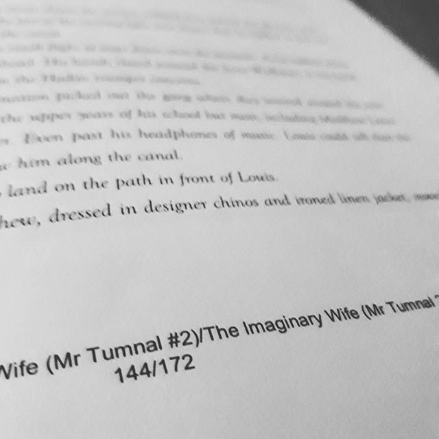Getting there... #amediting #MrTumnal2 #TheImaginaryWife