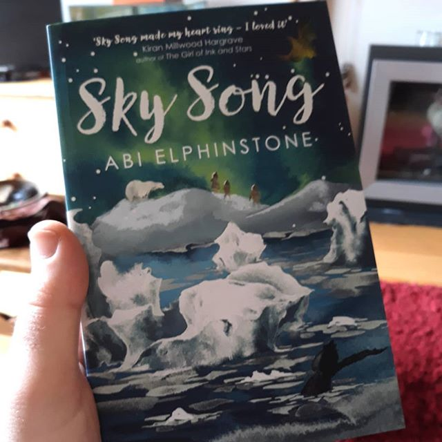For someone who has a book to publish next month, starting to read this might be a dangerous thing to do… @moontrugger #SkySong #amreading