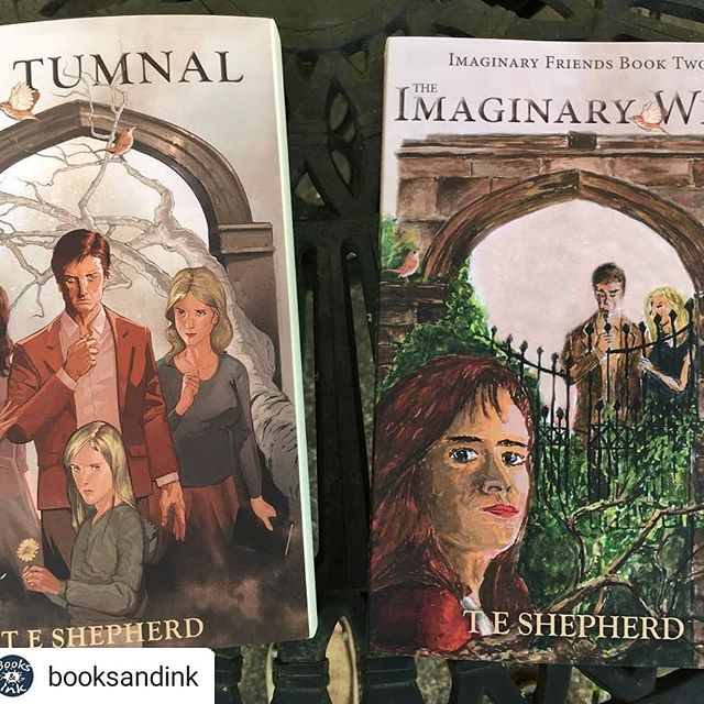 #Repost @booksandink • • • Recently finished the brilliant #MrTumnal and really looking forward to getting stuck into #TheImaginaryWife – hot off the press! Available to order from us or direct from @shepline #summerreads .•.•.• #newbooks #bookstagrammers #booklovers #fiction #bibliophiles #literature #booktag #shepline #booksandinkbookshop