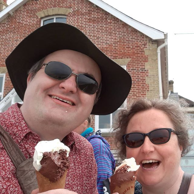 Ice cream and seaside towns...