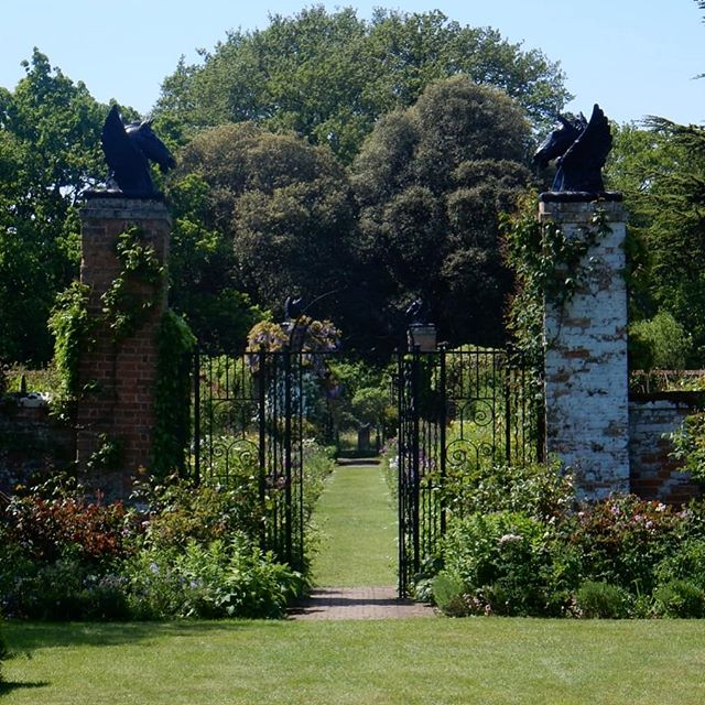 Birthday outing to Helmingham Hall Gardens… part 2 . #gardens #spring #flowers