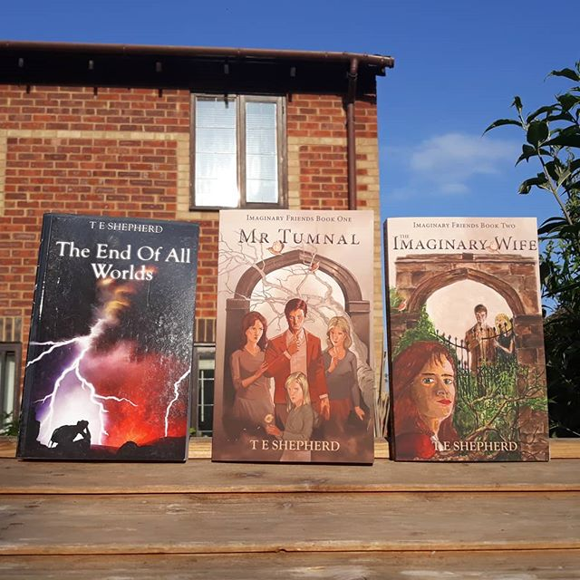 It's looking like another nice weekend to be out and relaxing in the garden or the local park. What are reading? . http://shepline.com/books/ .  #amreading #books???? #summerreads #norsemythology #magicrealism #fantasy #ImaginaryFriends