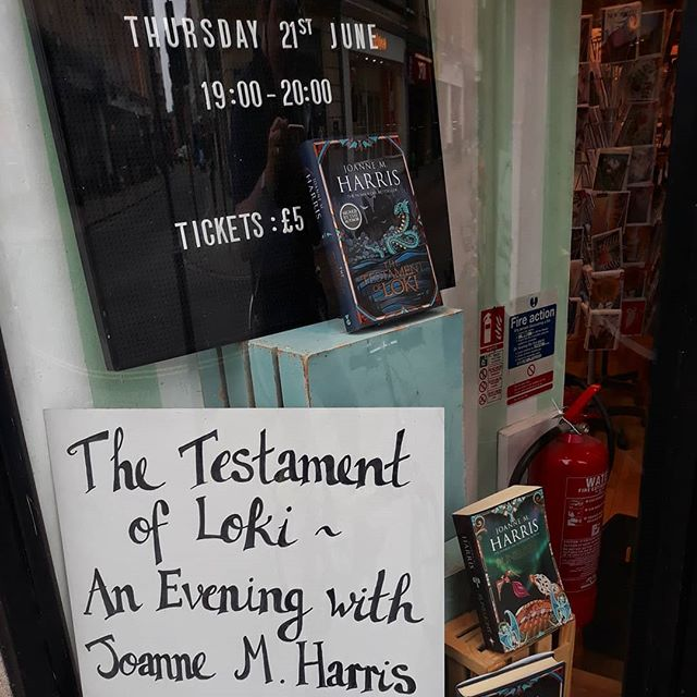 Ooh, look, a new @joannechocolat #Loki novel. How did I not know about this? #runemarks