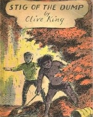So sad to hear of the death of #StigoftheDump author #CliveKing. Loved this book so much and #EdwardArdizzone's illustrations brought it to life so well…