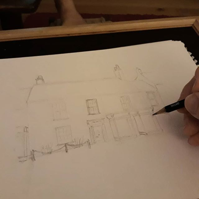 Can you guess where it is yet? #amillustrating #illustration #bookshops #bookloversguidetobookshops