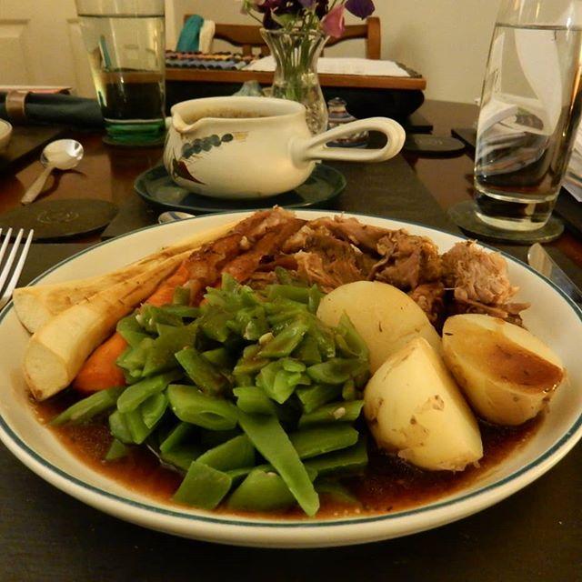 First roast dinner of #autumn???? ????