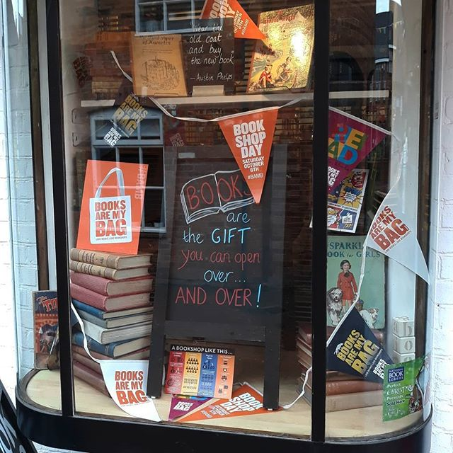 As an #IndieAuthor I strongly believe it's important to support #IndieBooksellers and there is no better way to do it than on #bookshopday. So I headed out to @booksandink where you can now find the first two books in my #ImaginaryFriends series and greetings cards of the shop from my #bookloversguidetobookshops in stock. #loveyourlocal