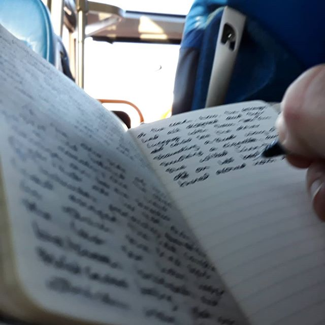 More bus writing… #ForgottenFriends  #ImaginaryFriends #MrTumnal3 #amwriting