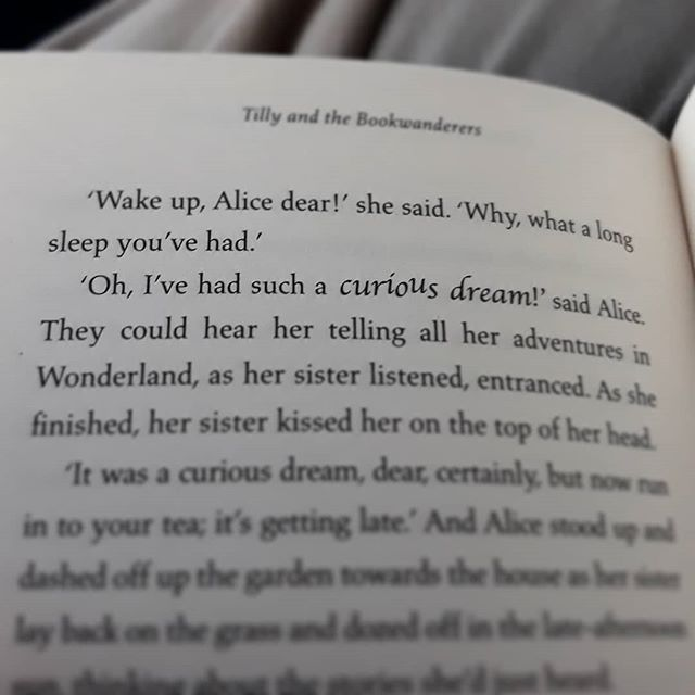 What are the chances that I should be reading a book published in the same year as my own with the exact same reference? #amreading #PagesandCo @acaseforbooks #TheImaginaryWife #Alice #aliceinwonderland