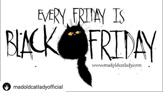 #Repost @madoldcatladyofficial • • • • • Before you ask… 🖤. #cat #cats #catsofinstagram #madoldcatlady #catlady #crazycatlady #catlover #catlovergifts #blackcats #blackcatsrule #catsrule #blackcatsofinstagram #etsy #buylocal #smallbusiness #designermaker