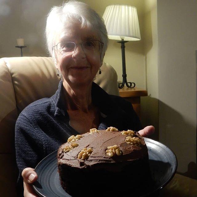 Happy Birthday to my Mum for Sunday!