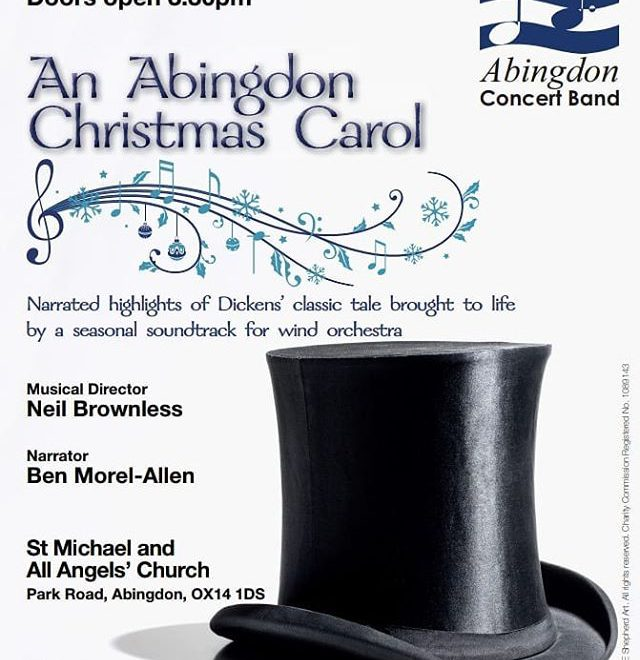 Don't be left Home Alone on 15 December, have yourself a very English Christmas Carol when you take a Sleigh Ride to the Greatest Showman of the 🥇 @abingdonconcertband https://www.eventbrite.co.uk/e/an-abingdon-christmas-carol-tickets-51945086151 #Christmas #windband #concert 🎼🎶🎺📯🎷