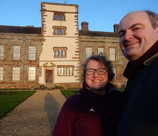 Birthday outing for @vnemma in the winter sun and freezing cold at @canonsashbynt...