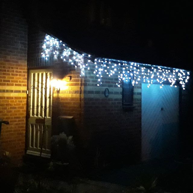 Upgraded my Christmas lights this year. £15 thanks to B&M in town...