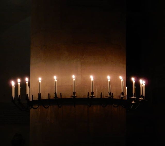 Ring of candlelight… #ninelessonsandcarols