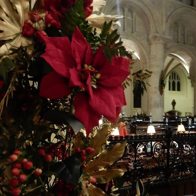 More of Christ Church Cathedral at Christmas... #ninelessonsandcarols